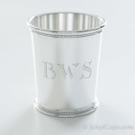 Hand Engraved BWS Shaded Roman Block