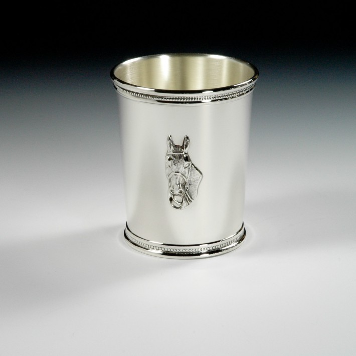 Julep Cup With Horse Head