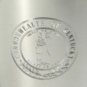 Engraved KY Seal Up Close