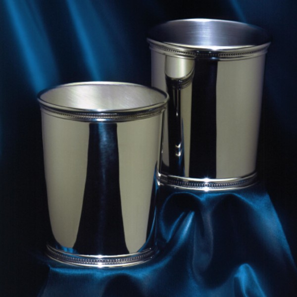 Pair of Pewter Mint Julep Cups