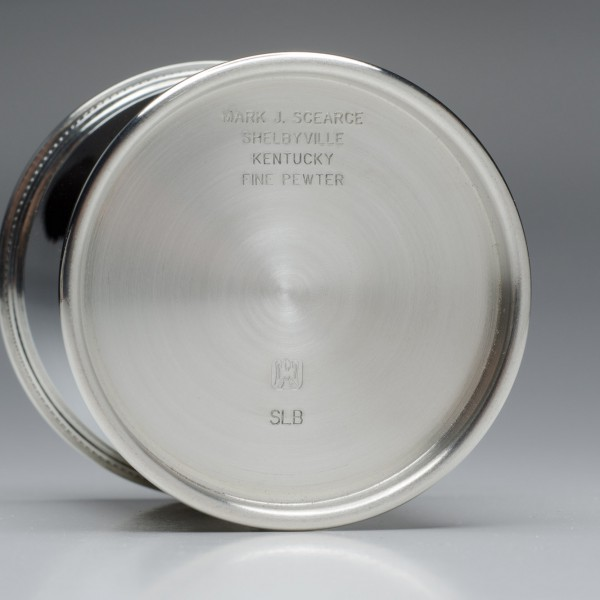 Pewter Julep Cup Bottom